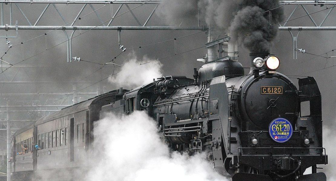 Treno in corsa